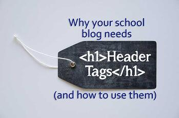 header-tags for school blogs