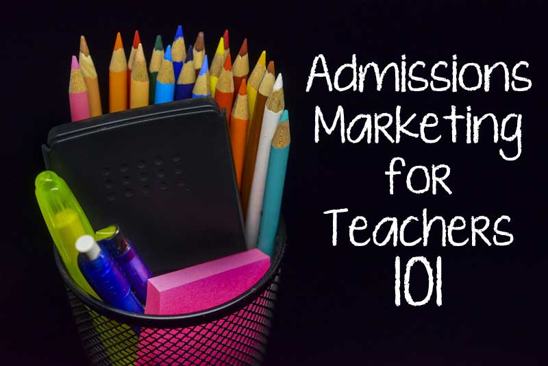 Give your teachers the supplies they need to help your retention and admissions efforts