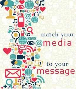 Match your media choice to your message