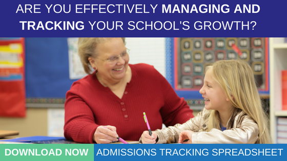 Download Now: Admissions Tracking Spreadsheet